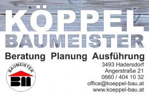 Baumeister-Köppel Hadersdorf