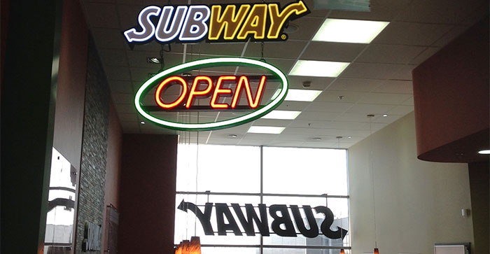Subway Wr. Neustadt fertig